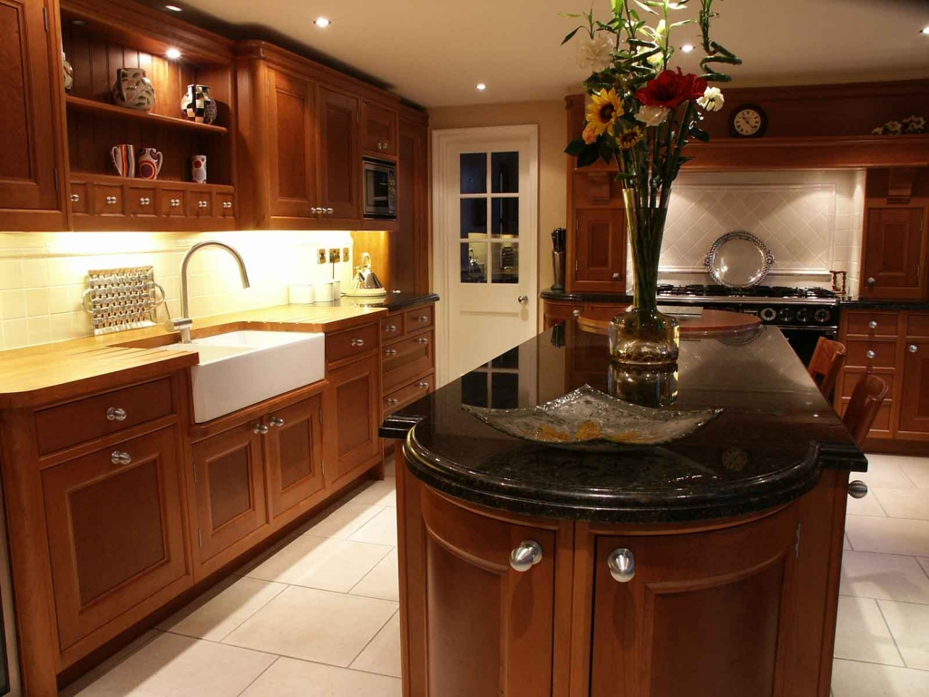 Kitchen Remodeling with Granite Counters